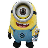Despicable Me 2 Talking Minion 16-inch Jumbo Plush - Stuart