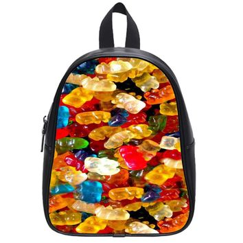 Delicious Gummy Bears School Backpack Large