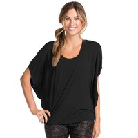 PL Movement by Pink Lotus Willpower Scoopneck Dolman Yoga Top - Women's, Size: