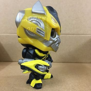 10cm New Funko Pop! Movies Transformers Vinly Figure #102 Bumblebee