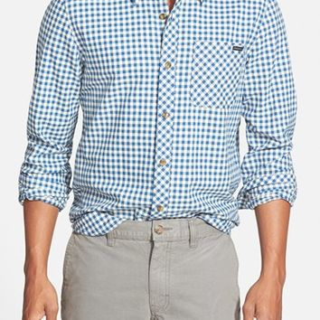 Men's O'Neill 'Rockaway' Tailored Fit Gingham Woven Shirt,