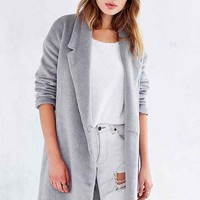 State Of Being Teddy Coat- Grey