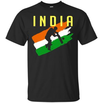 India Cricket Jersey Batsman T-Shirt