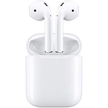 New Apple Airpods In-Ear Wireless Earphone White MMEF2J/A F/S with Tracking No