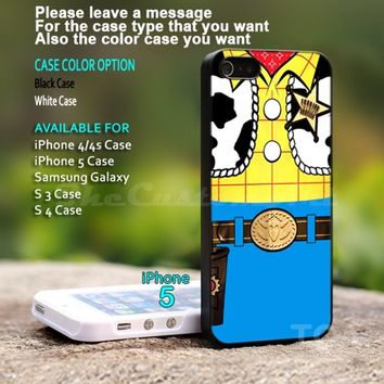 Woody toy story - For iPhone 5 Black Case Cover