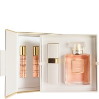 CHANEL - COCO MADEMOISELLE EAU DE PARFUM SPRAY AND REFILLABLE SPRAY