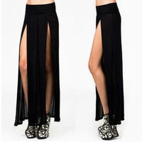 Highwaist Double Split Skirt from Lunar Gypsy