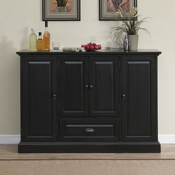 Darby Home Co Styward Bar Cabinet with Wine Storage You'll Love | Wayfair