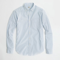 FACTORY SUNWASHED OXFORD SHIRT IN STRIPE
