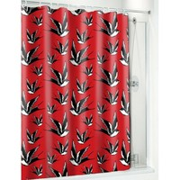 Swallows & Dots Shower Curtain from Sourpuss at Beadesaurus | Free UK Shipping Over £25
