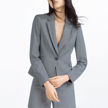 BUTTONED BLAZER - BLAZERS-WOMAN | ZARA United Kingdom