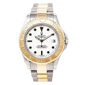 Rolex Yacht Master Automatic Self Wind Womens Watch 168623 (certified Pre Owned)