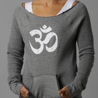 Aum Clothing Aum Maniac Eco Fleece Sweatshirt - Grey