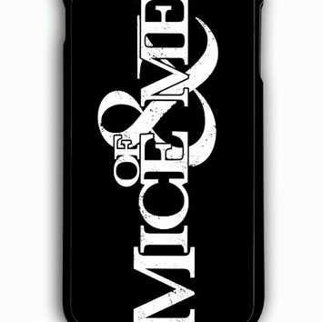 iPhone 6 Plus Case - Hard (PC) Cover with Of Mice and Men Logo Plastic Case Design