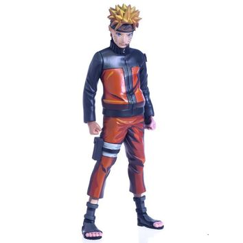 Naruto Sasauke ninja High Quality 24cm  Limited Edition Edition PVC Action Figure Toys Collection Dolls Christmas Gifts Toys For Firends WX284 AT_81_8