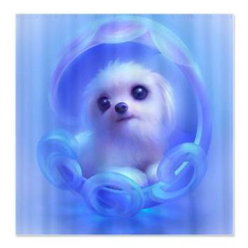 Whimsical Candy Color Pet Puppy DogShower Curtain> Decorator Shower Curtains> MORE PRODUCTS-CLICK HERE-GetYerGoat.com