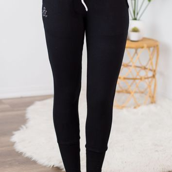 Ampersand Ave Joggers - Black