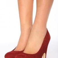 Hayword Platform Pump - Ruby | NASTY GAL | Jeffrey Campbell shoes, Evil Twin, MinkPink, BB Dakota, vintage dresses + more!