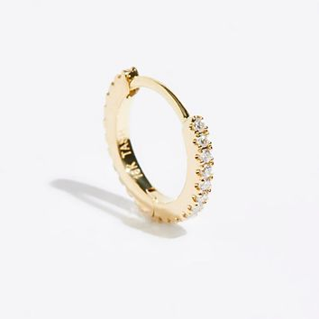 8mm Diamond Eternity Hoop