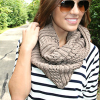 Latte Lover Scarf