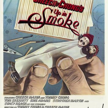 Cheech and Chong's Up in Smoke 27x40 Movie Poster (1978)