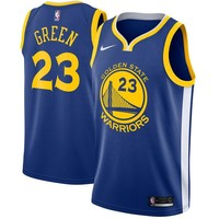 Draymond Green Golden State Warriors # 23 Nike Blue Swingman Icon Edition Jersey - Best Deal Online