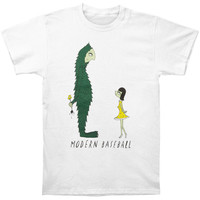 Modern Baseball Men's  Bigfoot Slim Fit T-shirt White