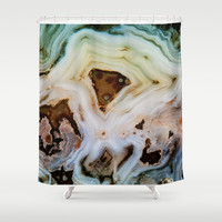 THE BEAUTY OF MINERALS Shower Curtain by Catspaws