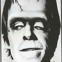 Herman Munster The Munsters Fred Gwynne Poster 24x33