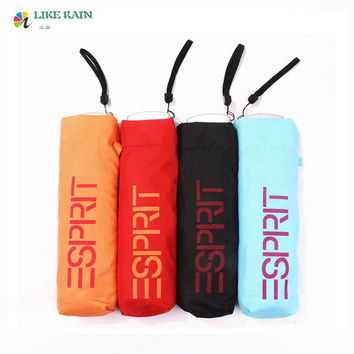 Three-Folding Umbrella  Super Light Pockets Umbrellas