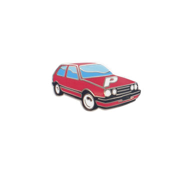 GTI PIN BADGE RED | Palace Skateboards