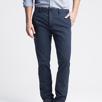 Banana Republic Mens Heritage Skinny Cotton Pant