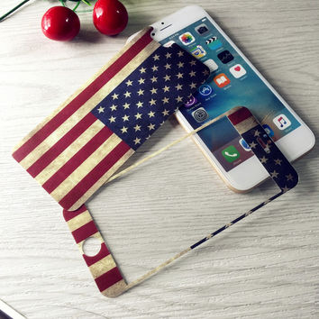 American Flag Tempered Glass Screen Protecter