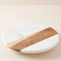 Marbled Lazy Susan
