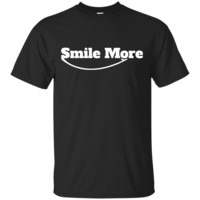 Smile More T shirt-01