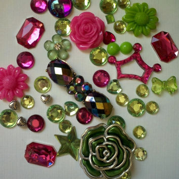 Deco Kit for Cell Phone Case by iHeartZena on Etsy