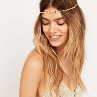 Gold Triangle Chain Headband - Urban Outfitters
