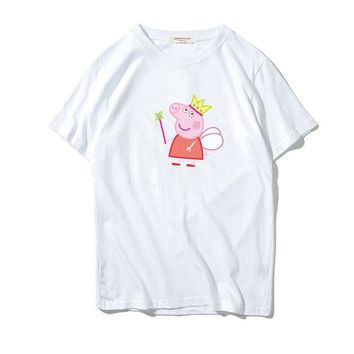 Short Sleeve Cotton T-shirts [753827610717]