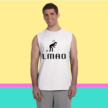 LMAO (Literally) Sleeveless T-shirt