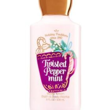 Bath & Body Works TWISTED PEPPERMINT Body Lotion 8 oz