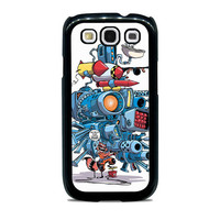 Say Hello To My Little Friend Rocket Racoon Samsung Galaxy S3 Case