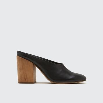 Caley Leather Mule