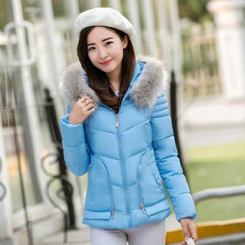 Winter Adorable Fur Hooded Women's Jacket-BUYFYE Members ONLY