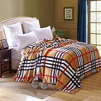 Queen Size Luxury Fleece Blankets Extra Soft and Warm Bed Blanket Couch Blanket and Easy Care