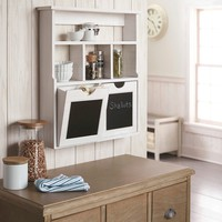 Wood Cubby with Drawers - White : Target