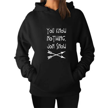 You Know Nothing Jon Snow Game of Thrones For Man Hoodie and Woman Hoodie S / M / L / XL / 2XL*AP*