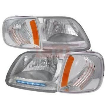 Ford F150 Headlights + Corner Lamps Combo Performance Conversion Kit