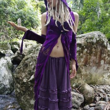 Spirit Tree Fairy Gown by frixiegirl on Etsy
