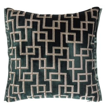 Designers Guild Jeanneret Ocean Decorative Pillow