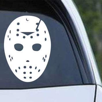 Friday the 13th Jason (a) Mask Die Cut Vinyl Decal Sticker